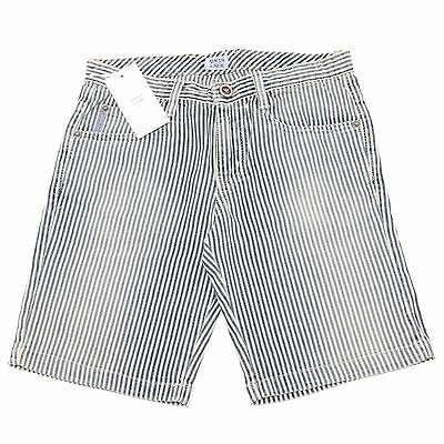 7091O bermuda jeans righe bimbo ARMANI JUNIOR trousers shorts kids