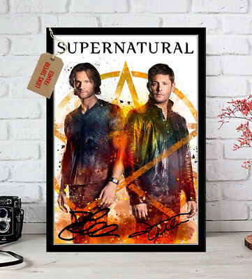 Jensen Ackles Supernatural Season 10 2016 Poster Autographed Signed Photo Print