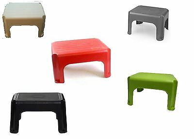 New whitefurze multi colours step stool