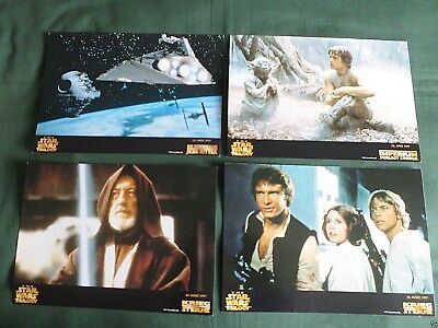 The Star Wars Trilogy- Set Of 8 Lobby Card - 8X11.5- Carrie Fisher - Mark Hamill