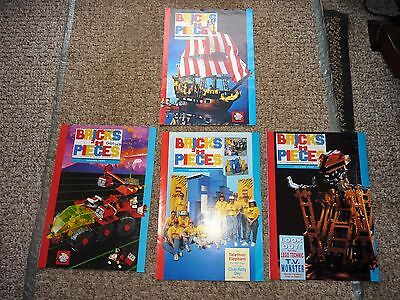 Bricks 'n Pieces The Official Magazine Of The Lego Club X 4 1989/1990 Vgc