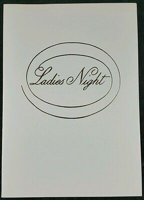 Vintage S.S. Canberra P & O Cruise Liner Ladies Night Dinner Menu 25th May 1987