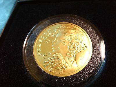 2015 Silver Shield 1 Ounce Pure .9999 Gold Freedom Girl Limited BU Round