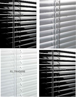 Metal Aluminium Venetian Blinds Home Office Easy Fit Heat Resistant Window Blind