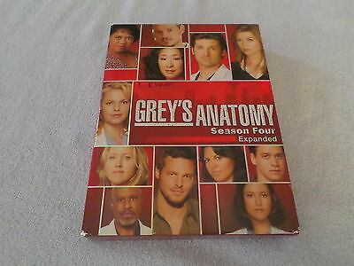 Grey's Anatomy - The Complete Fourth Season (DVD, 2008, 5-Disc Set) - EXPANDED