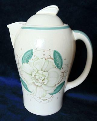 Susie Cooper Large Art Deco  Coffee Pot In Gardinia Pattern