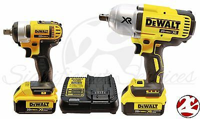New DeWALT DCK398HM2 20V Max Brushless High Torque Impact Wrench DCF899 DCF880