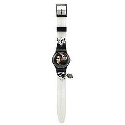 TWILIGHT - 'Edward' Analogue Wrist Watch with Metal Crest Charm (NECA) #NEW