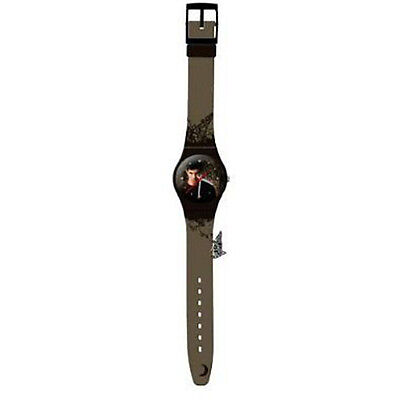 TWILIGHT - 'Jacob' Analogue Wrist Watch with Metal Wolf Charm (NECA) #NEW