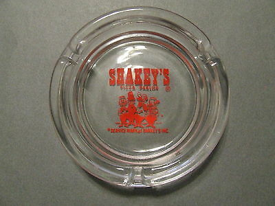 Vintage 1960's Old Advertising Shakey's Pizza Parlor Ashtray Barbershop 4
