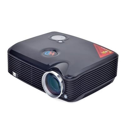 SVGA HD 1080P LED LCD Projector Home Theater Cinema with HDMI TV Tuner USB VGA