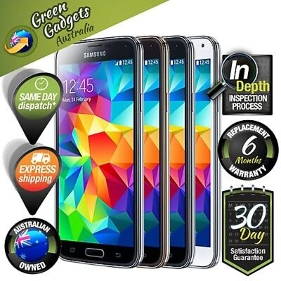 Samsung Galaxy S5 & S5 Mini 4G Smartphone 16 GB Unlocked Black White Blue Gold