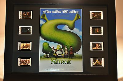 *RARE* SHREK 35mm Film Cell Display LIMITED EDITION