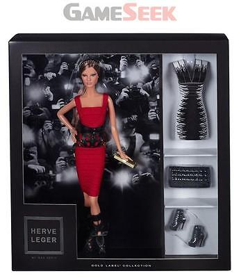 Barbie Collector Herve Leger Dress Doll - Dolls And Playsets Brand New