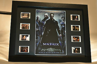 *RARE* THE MATRIX 35mm Film Cell Display LIMITED EDITION