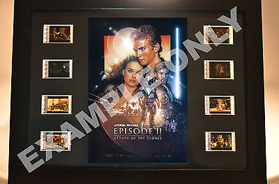 *RARE* STAR WARS - 35mm Film Cell DIsplay LIMITED EDITION