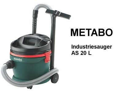 METABO Industriestaubsauger Sauger AS 20 L - 6.02012.00