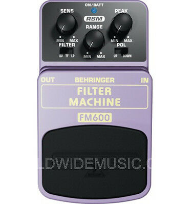 Behringer Filter Machine Fm600 Pedal Stomp Box