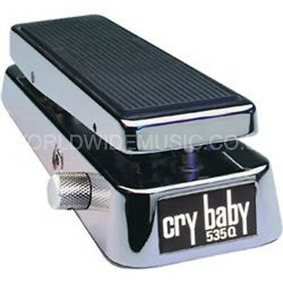 Jim Dunlop 535Q CHROME CRY BABY Wah Wah Pedal