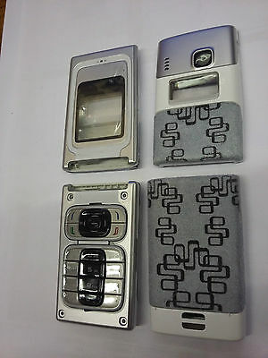 Nokia 7200 - Silver Front and Back Cover / Fascia , NEW , bargain