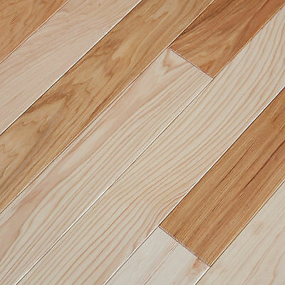"3-1/4"" UV Oiled Hickory Solid Engineered Hardwood Wood Flooring Sample"
