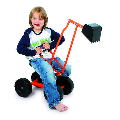 Digger On Wheels - Great For Sand Pits