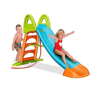 Children Kids Feber Slide 10 Outdoor Garden Water Slide with Water Connection