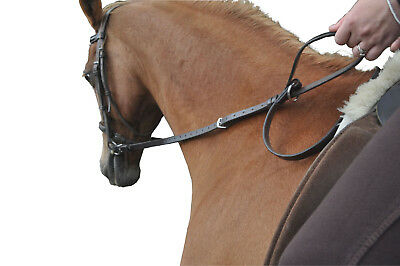 de Boiz Correct Contact Reins - Training Reins for Horse and Rider.