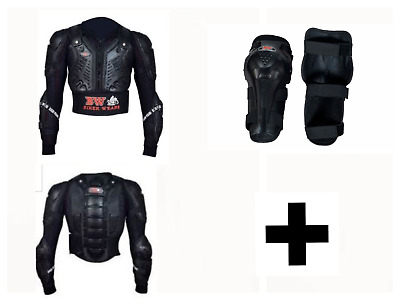 +Kids Cub Body Armour Motorcycle Motorbike Motocross Back Protector Guard Jacket