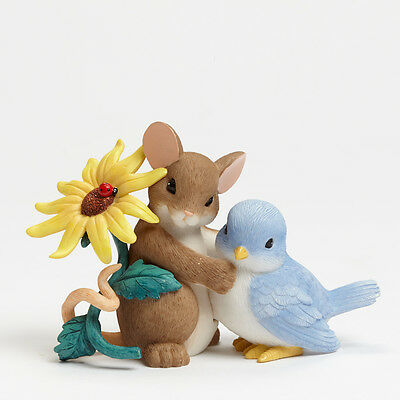 Charming Tails Figurine, 'Thank You For Being So Tweet', New In Box, 4043860