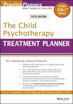 The Child Psychotherapy Treatment Planner 294 by William P....