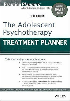 The Adolescent Psychotherapy - Treatment Planner