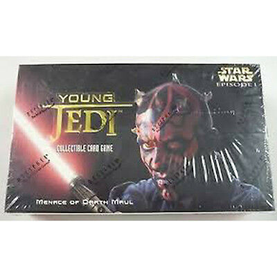 STAR WARS YOUNG JEDI CCG - Menace Darth Maul Cards Booster Box (Decipher) #NEW