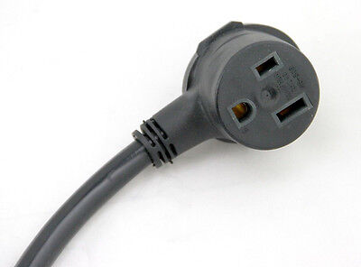 Extension Cord w/ Pigtail 220V to 110V Adapter Lotos PT03 26ft for TIG200 MIG175