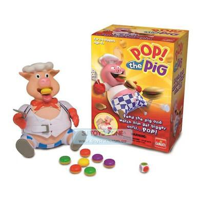 Goliath Pop the Pig Kids' Game Push Down The Pig's Head To Chomp The Burger Unti