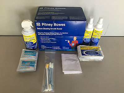 Pitney Bowes Deluxe Cleaning Kit with Duster CK0-3