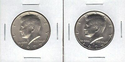 1979-P & D Uncirculated Kennedy  Half Dollars In Mint Set Cello 2 Coins