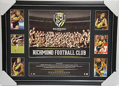 Richmond Tigers Afl Official 2016 Team  Print Collage Framed -  Cotchin Riewoldt