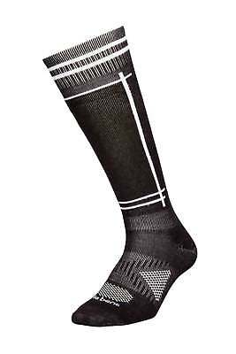 Le Bent Definitive Light Aztec Black White Mens Snowboard Socks Snow 2016
