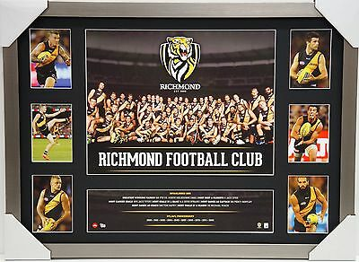 Richmond Afl Super Print Collage Framed - **sale** Tigers Cotchin Official Team