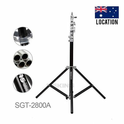 NEW Selens 280cm 9.2ft Light Duty Air Cushion Studio Light Stand SGT-2800A & Bag