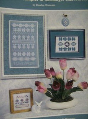 I Love Spring Sampler In Hardanger Embroidery Booklet-By Rosalyn Watnemo
