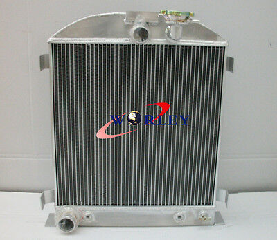 64mm 3-ROW Alloy Aluminum Radiator for 1932 Ford Chopped engine 32 Auto