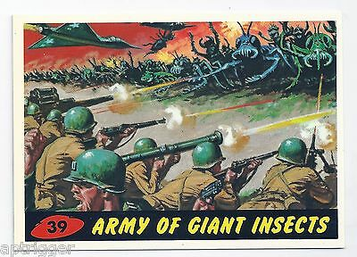 1994 Topps MARS ATTACKS Base Card # 39 Army Of Giant Insects