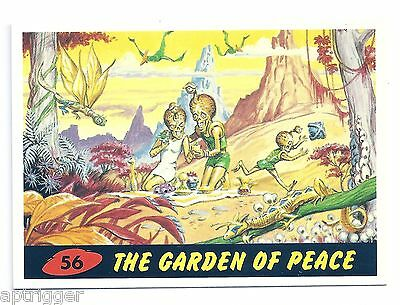 1994 Topps MARS ATTACKS Base Card # 56 The Garden Of Peace
