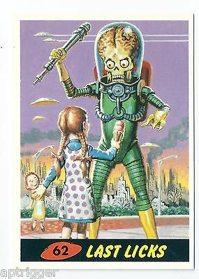 1994 Topps MARS ATTACKS Base Card # 62 Last Licks