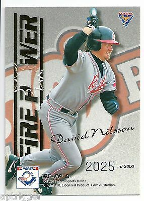 1995 Futera ABL Strikeforce / Firepower SF-FP9 NILSSON / DALE #2025