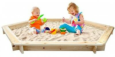 Infantastic Outdoor Play Wooden Sand Pit / Sandbox