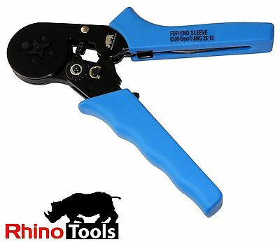 Bootlace Ferrule Crimper 0.08 – 6mm² Self Adjusting Crimping Tool Taiwan Quality