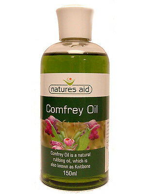 Comfrey Oil 150ml (Knitbone) Natures Aid